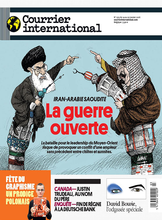 Courrier international : La guerre ouverte