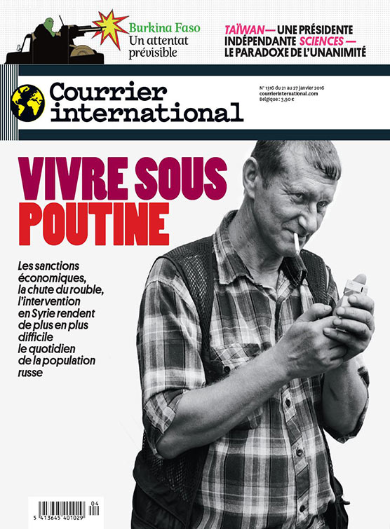Courrier international : Vivre sous Poutine